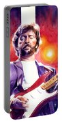 Eric Clapton Stripe Portable Battery Charger