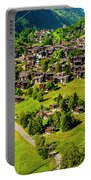 The Alpine Village Of Ernen In Switzerland  Portable Battery Charger