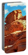 Eroded Red Sandstone Portable Battery Charger