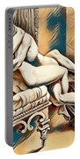 Erotic Abstract Four Portable Battery Charger