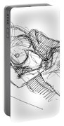 Erotic Art Drawings 7 Portable Battery Charger
