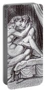 Erotic Nude Drawing One Portable Battery Charger