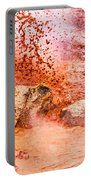 Erupting Mudpot - Yellowstone Portable Battery Charger