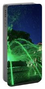 Eruption Of Green Waters, Sofia Portable Battery Charger