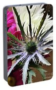 Eryngium Thistle Portable Battery Charger