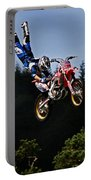 Escaping Motorbike Portable Battery Charger