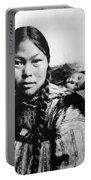 Eskimo Woman And Child Portable Battery Charger