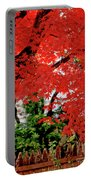 Essence Of Japanese Maple Tree Portable Battery Charger
