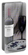 Est 2017 Blackberry Wine Portable Battery Charger