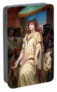 Esther Before Ahasuerus Portable Battery Charger