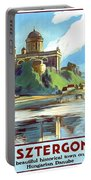 Esztergom, Beautiful City On Danube River, Hungary,  Portable Battery Charger