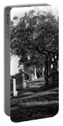 Etched In Stone Portable Battery Charger by Donna Blackhall