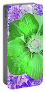 Ethereal Purple Poppy Too Portable Battery Charger