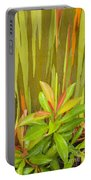 Eucalyptus And Leaves Portable Battery Charger
