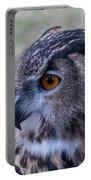 Eurasian Eagle Owl Portable Battery Charger