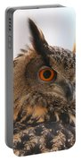 Eurasian Eagle-owl Portable Battery Charger