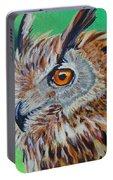 Eurasian Eagle-owl Portable Battery Charger