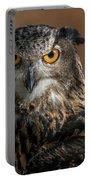 Eurasian Eagle Owl Iv Portable Battery Charger