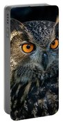Eurasian Eagle Owl Portable Battery Charger
