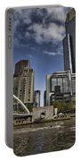 Eureka Tower-view From Cityside Portable Battery Charger