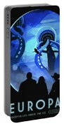 Europa Space Travel Portable Battery Charger