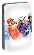 European Golf Champions Race 2017 Portable Battery Charger
