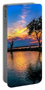 Evening At Riverwinds Portable Battery Charger