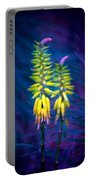 Aloe Flowers Portable Battery Charger