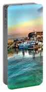 Evening Bridlington Harbour Portable Battery Charger