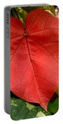 Evening Hau Tree Leaves Portable Battery Charger