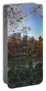 Evening In Central Park Portable Battery Charger