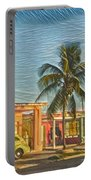 Evening In Cuba Portable Battery Charger