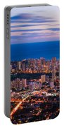 Evening In Honolulu Portable Battery Charger
