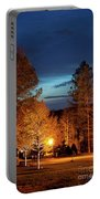 Evening In The Neighborhood Portable Battery Charger