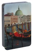 Evening In Venice Portable Battery Charger