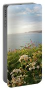 Evening Light In Cornwall Portable Battery Charger