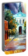 Evening On Orleans Street Portable Battery Charger