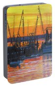 Evening On Shem Creek Portable Battery Charger