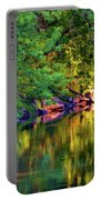 Evening On The Humber River - Paint Portable Battery Charger