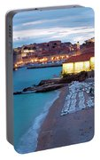 Evening Over Dubrovnik Portable Battery Charger