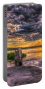 Evening Skies Portable Battery Charger