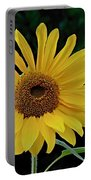 Evening Sunflower Portable Battery Charger