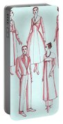 Evening Wear, 1956 Portable Battery Charger