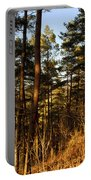 Evening Woods Portable Battery Charger