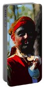 Everglades Seminole Portrait Number Three Portable Battery Charger