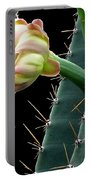 Every Cactus Flower Has It's Thorns  Portable Battery Charger