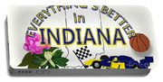 Everything's Better In Indiana Portable Battery Charger