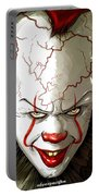 Evil Clown Portable Battery Charger