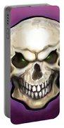 Evil Skull Portable Battery Charger