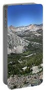 Evolution Lake And Valley Panorama From Darwin Bench - Sierra Portable Battery Charger